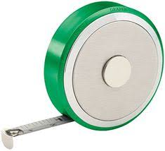 Draper 2m tape measure metal casing  white metal tape